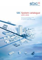 SBC System catalogue 2016/17