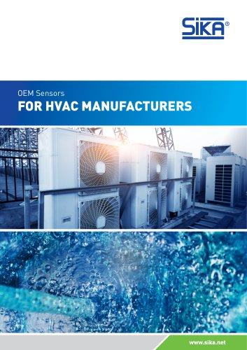 OEM Sensors for HVAC manufacturers