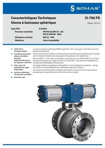 Ball valves: SKV