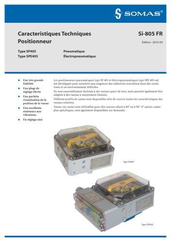 Positionneur pneumatique et  Électropneumatique