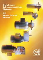 DC Worm Geared Motors
