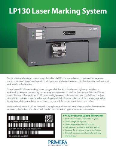 LP130 Laser Marking System