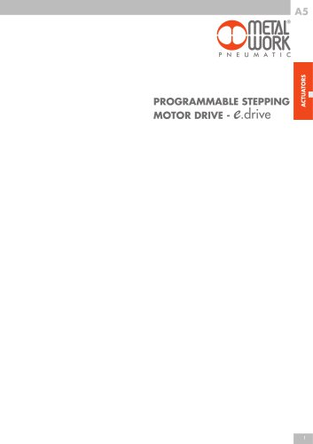 PROGRAMMABLE STEPPING MOTOR DRIVE