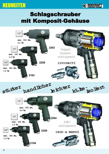 Product overview Air tools