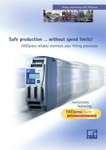 Safe production... without speed limits!