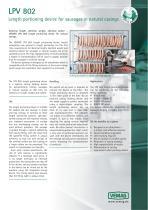 Length portioning device LPV802