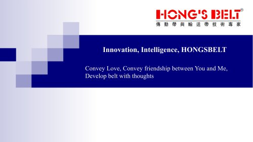 Welcome to Join Hongsbelt