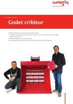 Accessoires pour pelles Godet cribleur - 1
