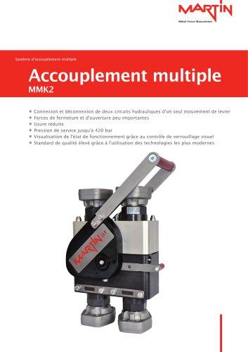 Système d'accouplement multiple Accouplement multiple MMK2