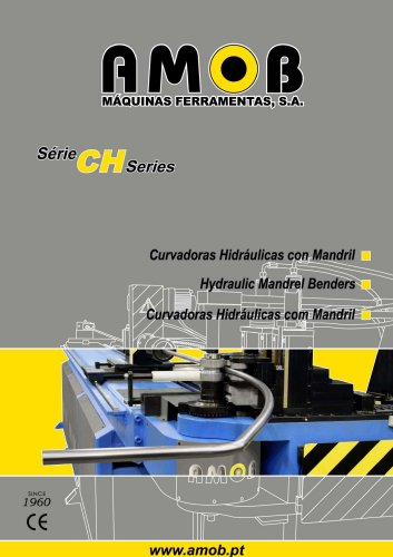 Hydraulic Mandrel Benders - CH series