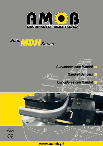 Mandrel Benders - MDH series