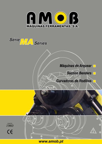 Section Benders - MA series