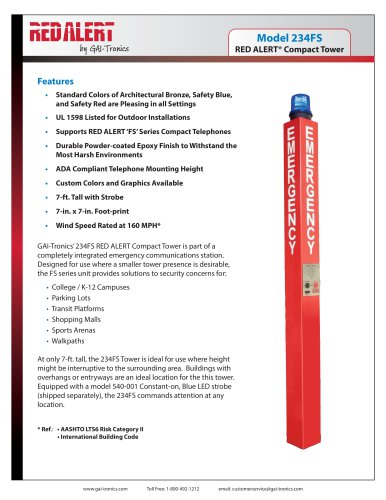 RED ALERT® Compact Tower