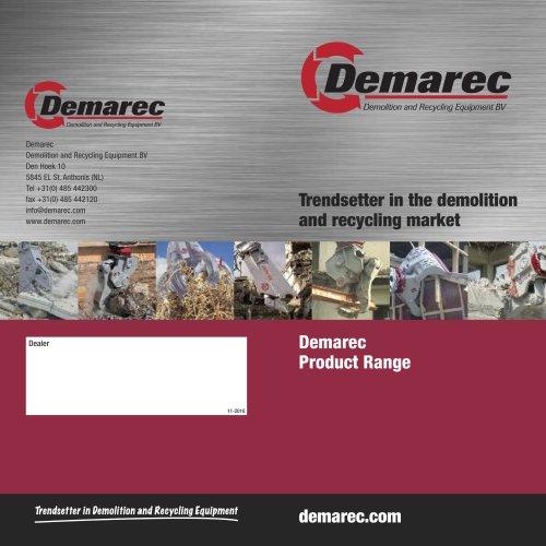 Demarec Product Range