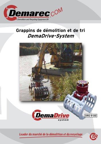 Grappins de démolition et de tri DemaDrive-System