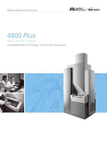 4800 Plus MALDI TOF/TOF™ Analyzer