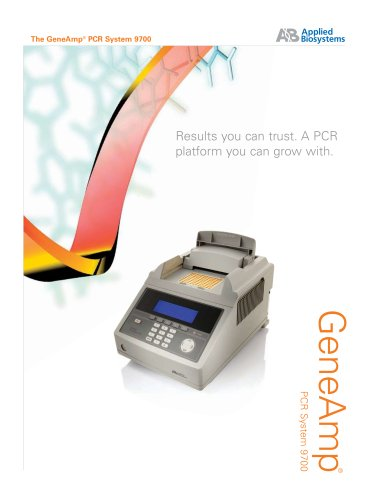 60-Well and 0.5 ml Tube GeneAmp® PCR System 9700