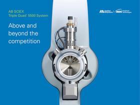 AB SCIEX Triple Quad™ 5500 LC/MS/MS system