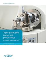 API 2000? LC/MS/MS System: Triple quadrupole power and performance. On your benchtop.