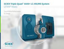 SCIEX Triple Quad™ 5500+ LC-MS/MS System QTRAP®  Ready