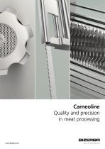 Carneoline Quality and precision in meat processing