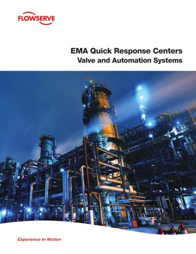 EMA Quick Response Centers Valve and Automation Systems