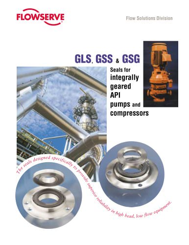 GLS, GSS, and GSG Seal Brochure