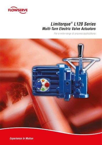 Limitorque L120 Series Electric Actuators