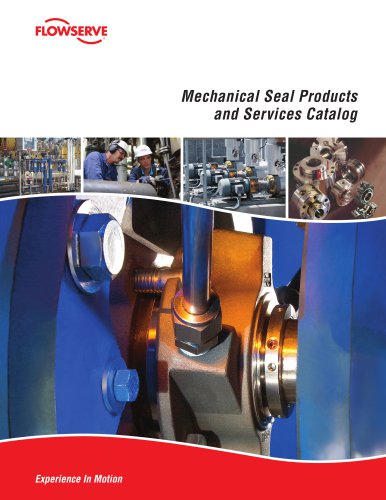 Mechanical Seal Products and Services Catalog