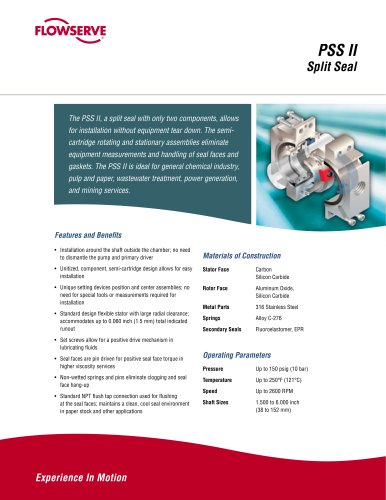 PSS II Brochure