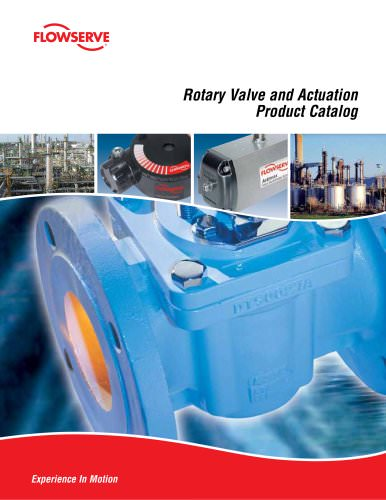 Rotary Valve and Actuation Product Catalog
