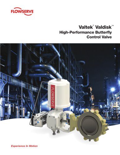 Valtek®  Valdisk™ High-Performance Butterfly Control Valve