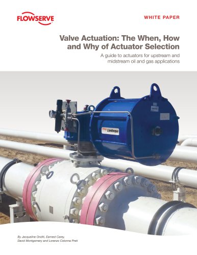 Valve Actuation: The When, How and Why of Actuator Selection