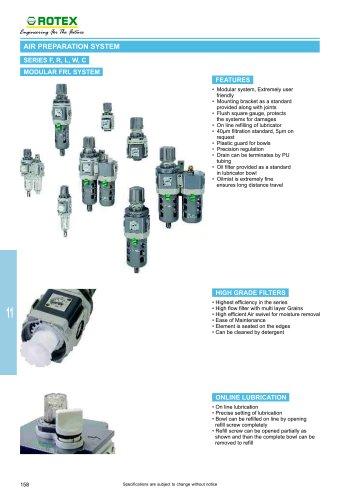 air preparation system FRL