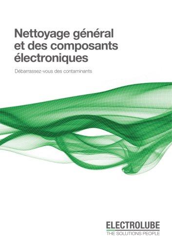 Nettoyage général et des composants électroniques