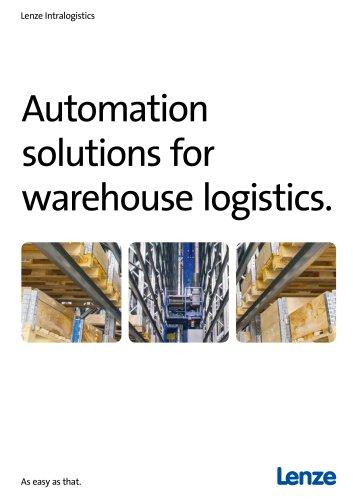 Intralogistics warehouse logistics