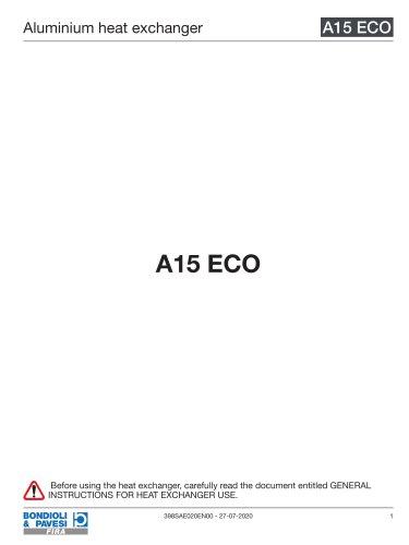 Aluminium Heat Exchanger   A15 ECO