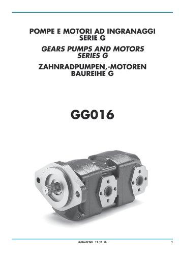 Gear Pump and Motors - Cast iron body