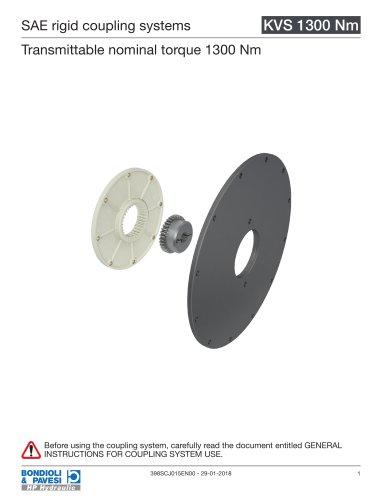Rigid Coupling Systems - KVS 1300 Nm