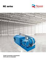 Drive Units on swing base Catalog RE