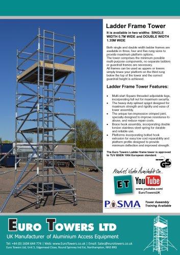 3T Ladder Frame Tower