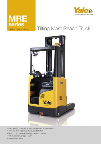 MRE series - Tilting Mast Reach Truck