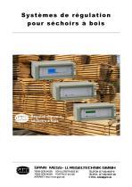 Systèmes de régulation pour des séchoirs à bois - 1