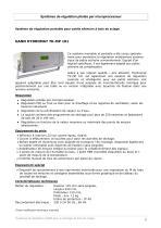 Systèmes de régulation pour des séchoirs à bois - 3