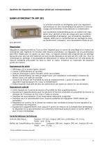 Systèmes de régulation pour des séchoirs à bois - 4