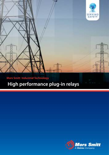 Mors Smitt High performance Plug-In Relays for Power Market