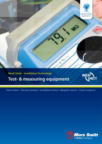 Mors Smitt Portable Test- & Measurement Equipment Part 2