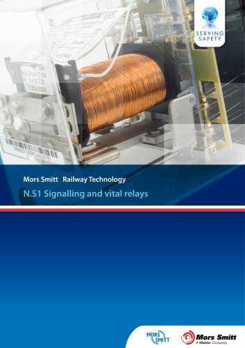 Signalling and vital relays N.S1 Brochure