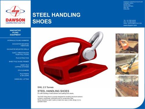 steel handling shoes