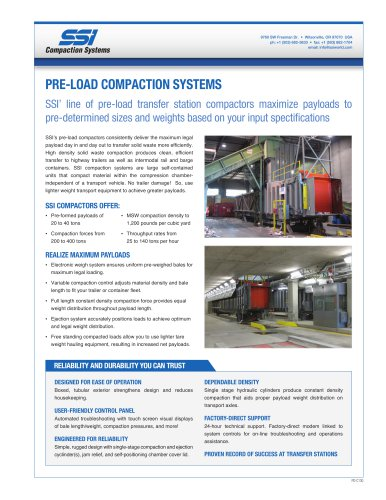 Pre-Load Compactors Overview